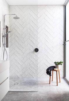 48 Easy Shower Design Ideas For Small Bathroom Bathroom Renos, Laundry In Bathroom, Bathroom Renovations, Small Bathroom, Master Bathroom, Bathroom Ideas, Bathroom Black, Bathroom Organization, Bathrooms Decor
