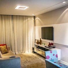 Inspiração de sala de estar! #apartamento #apartamentopequeno #sala #nossoape #aperyeana #decor