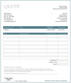 LAWN CARE SERVICE QUOTE TEMPLATE image quotes at relatably.com ...