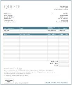 Printable Blank Bid Proposal Forms | ... Forms Sample Written ...