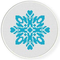 Charts Club Members Only: Damask Design Pattern 05 Cross Stitch Pattern