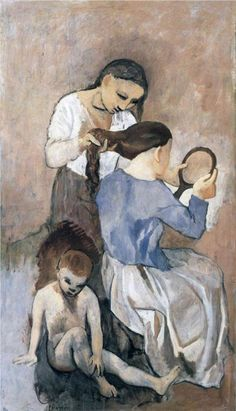 Hairdressing - Pablo Picasso, 1906
