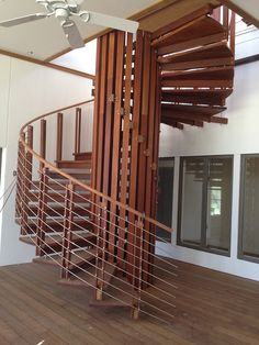 Professionals in staircase design, construction and stairs installation. In addition EeStairs offers design services on stairs and balustrades. Stairs And Staircase, Staircase Design, Spiral Staircases, Stairs Architecture, Modern Architecture, Timber Slats, Banisters, Stairways, New Homes