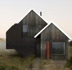 Maison en bois.  Visitez http://www.avantages-habitat.com/travaux-maison-ossature-bois-120.html