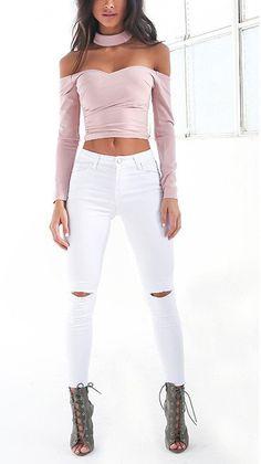 Women's Ripped High Waist Skinny Jeans | Buy Women's Clothing | Zorket