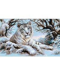 Bengal Tiger Counted Cross Stitch Kit