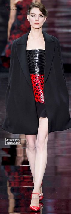 BELLA'S LUXE BOUTIQUE Armani Privé Haute Couture Fall Winter 2014-15 repined by BellaDonna