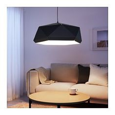 IKEA - JOXTORP, Pendant lamp shade, Create your own personalized pendant lamp by combining the shade with your choice of cord set.Gives a directed light; good for lighting dining tables or coffee tables.