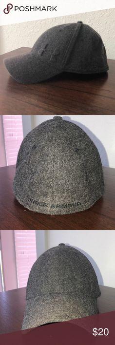 Under Armour Grey Wool Hat Med/Lrg Under Armour Grey Wool Hat Med/Lrg Under Armour Accessories Hats