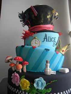 Bolo 15 Anos Alice
