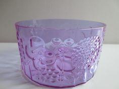 Oiva Toikka Flora Flora, Tom Of Finland, Scandinavian, Candle Holders, Candles, Purple, Glass, Design, Drinkware