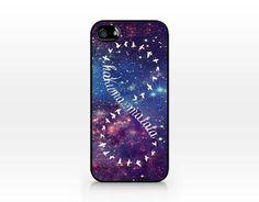 TIP-121 Hakuna Matata Infinity, iPhone 4 case, iPhone 4s case, iPhone 5 case, Hard Plastic Case on Etsy, $5.99
