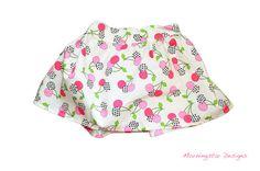 100 cotton handmade little girls skirt Wide band by morningstardesigns2, $17.00