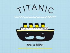 Tiny titanic illustration