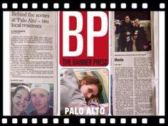 We made the front page! #paloalto #film #makingmovies #thebannerpress