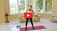 You only need one dumbbell and a little bit of floor space for this seriously effective routine. http://greatist.com/move/standing-abs-workout