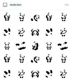 Resultado de imagem para sombra panda tattoo