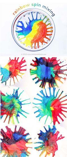 Science Art: Rainbow