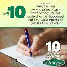 Rewarding Juice Cleanse Tip No. 10