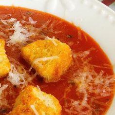 My Amazing Tomato Basil Soup (Like Applebee's®)
