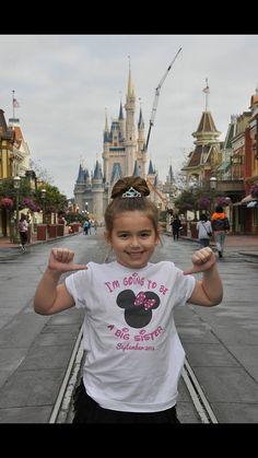Disney Shirt Girl or Boy, I'm going to Disney World Shirt, I'm Going to Disneyland Shirt, Print on both sides, Name on back on Etsy, $23.00