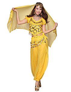 Belly Dance Dancewear Women's Chiffon Tassels Outfits Includ... – JPY ¥ 2,667