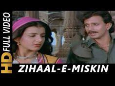 Zihale - E- Miskin   Lata Mangeshkar, Shabbir Kumar   Ghulami 1985 Songs   Mithun Chakraborty - YouTube