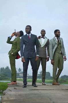 Little-Known African Men's Brand sure makes a Dandy Suit You never know. Maybe one day we'll see Taryor Gabriels as the most talked about new brand of men's Paris fashion week.African African(s) may refer to: . Black Dandy, Men In Black, Black Men In Suits, Black Mens Fashion Suits, Black Men's Fashion, Dapper Suits, Dapper Men, Dapper Gentleman, Sharp Dressed Man