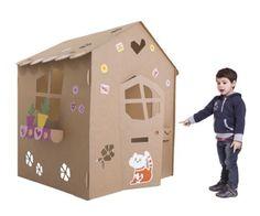 Ideas originales para hacer casas de cartón