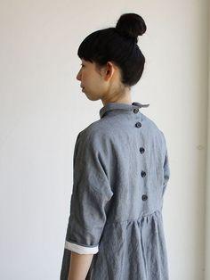 Bergfabel Linen dress from matilde