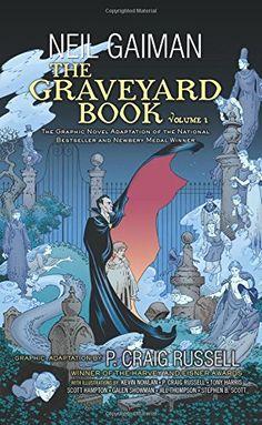 The Graveyard Book Graphic Novel: Volume 1 by Neil Gaiman http://www.amazon.com/dp/006219481X/ref=cm_sw_r_pi_dp_P6Imvb0A6MQH1