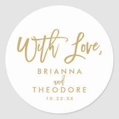 Shop Chic Hand Lettered Gold Thank You Favor Label created by NBpaperco. Personalize it with photos & text or purchase as is! Thank You Labels, Thank You Stickers, Wine Bottle Favors, Wedding Typography, Gold Glitter Wedding, Custom Wine Labels, Wedding Thank You Cards, White Elephant Gifts, Custom Stickers