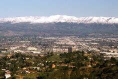 West Valley View from Topanga, 1979