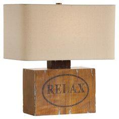 8f0e5991e834e Mood Table Lamp  219.95 Let the Mood Table Lamp remind you to let go of your