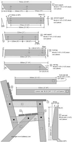Free garden chair plans page 1