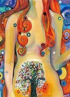 Spring is Here. Gaia, Goddess Art, Red Moon, Do It Yourself Home, Environmental Art, Paint Pens, Community Art, Diy Painting, Female Art