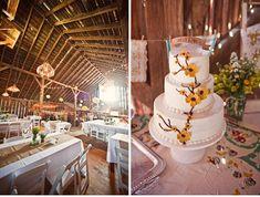 precious barn wedding