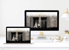 Website Design for Dayo Onas Events by Fancy Girl Design Studio