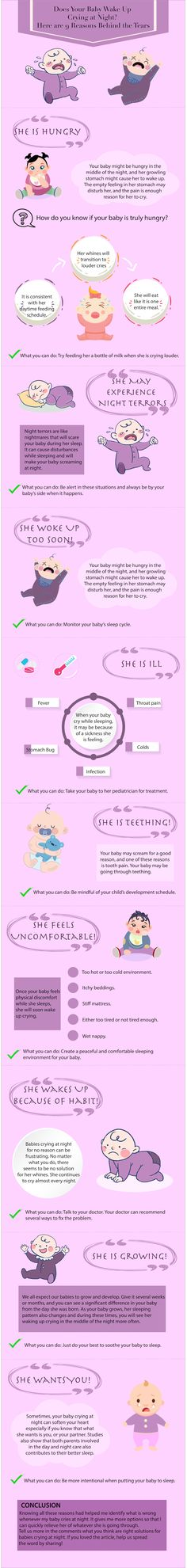Does Your Baby Wake Up Crying at Night Here are 9 Reasons Behind the Tears-