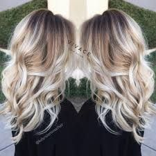 Image result for ice blonde highlights ombre