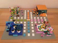 Lego Mensch-ärgere-dich-nicht