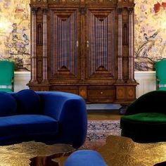 An amazing project by @deniskosutic redesigning an Austrian palace, where we can see our Eden center table, a sculptural piece that brings a contemporary twist to this baroque palace.| bocadolobo.com/ #behindthescenes #designfurniture