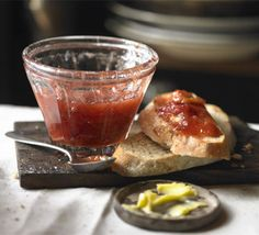 Rhubarb & Vanilla Jam    Homemade jam doesn't have to be just a summer treat with this sweet-sharp seasonal recipe
