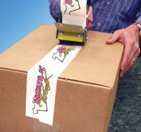 Custom Printed Packaging Tape for shipping boxes