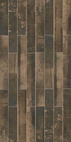 Yorkwood Manor Deep Walnut 6x36 Glazed Porcelain Floor & Wall Tile