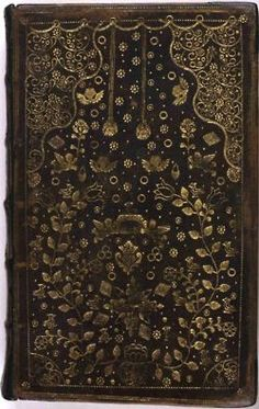 The Book of Common Prayer. Oxford: 1700....so lovely a cover for so wonderful a book...