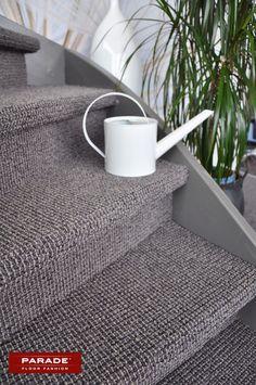 te koop bij www. Carpet Stairs, Hallway Decorating, Studio, Office Decor, Sweet Home, House Styles, Interior, Home Decor, Logo
