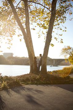 georgetown engagement photos.