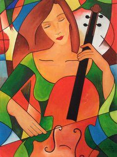 Een Sjapoo van Ekaterina More, Matchen mit Cello, te bezichtigen bij PISANO53 te Eindhoven.700x600.