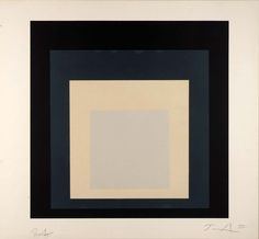 Homage to the Square, 1973 Josef Albers
